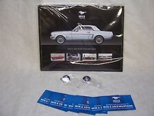 2015 FORD MUSTANG HERO CARDS & TWO MUSTANG 50TH ANNIVERSARY LAPEL PINS ++