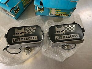 MARCHAL 750 FOG LIGHT MUSTANG   LINCOLN   JEEP  CAPRI   New!!!all chrome!!!