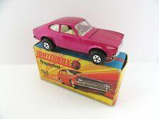 Matchbox Superfast 54b Ford Capri - Purple - Mint/Boxed