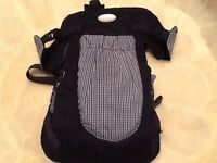INFANTINO COMFORT RIDER 6-POSITION BABY INFANT CARRIER CONVERTIBLE W SNAPS NICE!