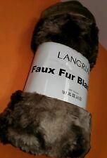 Faux Fur Blanket