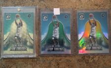 ANDREW WIGGINS 1/1 Optic Refractor Lot GOLD VINYL /1 Green /5 Gold /10 Prizm SSP