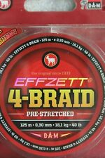 DAM EFFZETT 4 BRAID PRE-STRETCH FISHING LINE 125M BOAT COD PIKE BASS ZANDER LURE