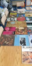 A classical collection of 25 Orchestral, Choral & Operatic LP's.