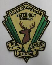 Saskatchewan Fish & Game League Esterhazy Branch Patch