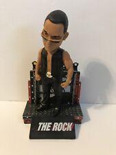 The Rock Bobblehead WWE With Box Dwayne Johnson XFL