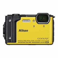 Nikon COOLPIX W300 YW Yellow Waterproof Digital Camera Wi-Fi 2017 Japan new .