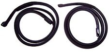 1970-1977 Ford Maverick, Grabber & Sport 2dr sedan door weatherstrip seals, pair