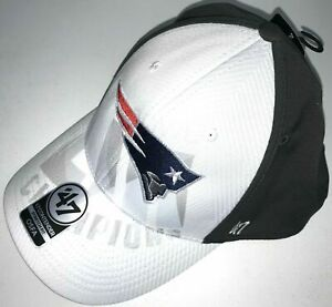 New England Patriots 47' Contender Super Bowl 53 Stretch Fit One Size Hat Cap