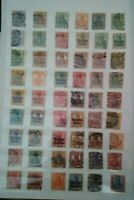 Deutsches Reich Germania Briefmarken Lot Stamps Sellos Timbres Doubletten