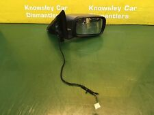 BMW 3 SERIES 316I E46 ELECTRIC DRIVERS SIDE WING MIRROR SILVER