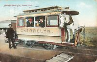 Postcard Cherrelyn Horse Car Denver Colorado