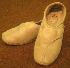 MENS BEIGE VELCRO SLIPPERS SIZE 8 BUY ONE GET ANOTHER FREE, SSM400