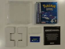 Pokemon Saphir Edition Nintendo Game Boy Gameboy Advance RARITÄT TOP OVP #1