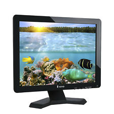 15 Inch Monitor 1080p Ultra HD LCD TFT Screen USB VGA HDMI BNC AV for CCTV DVR