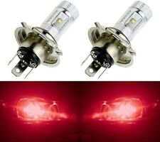 LED 30W 9003 HB2 H4 Red Two Bulbs Head Light Replace Show Use Off Road JDM Style