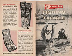Garcia Fishing Tackle Catalog, SCARCE 1969 b&w supplement