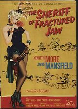 The Sheriff of Fractured Jaw (1958) - DVD Region 1 - Jayne Mansfield + p'cards