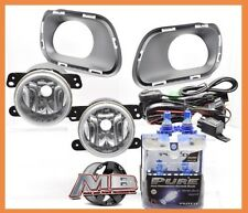 For 14 15 16 Jeep Cherokee Clear Fog Lights Wiring Kit Switch Nitro Blue H16