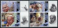 Djibouti Pope John Paul II Stamps 2020 MNH Mother Teresa Famous People 4v Set