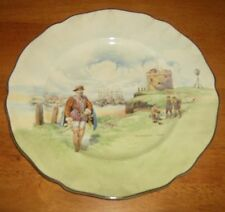 Royal Doulton Collector Plate Plymouth Ho . L00K !