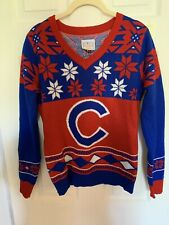 Chicago Cubs Holiday Sweater For Women