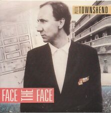 PETE TOWNSHEND FACE TO FACE - THE WHO 1985 Australian Polydor Jukebox 45