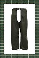 Unisex Wax Treggings Trousers 100% Cotton OLIVE S-2XL Fishing Shooting Walking