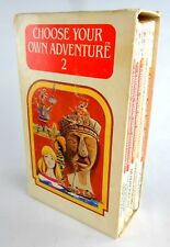 Rare Choose Your Own Adventure Box Set #2 w/ Slipcase CYOA Edward Packard 1980's