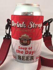Koozie Holder Necklace Drinkstrap Beer Soda Pop Can Bottle Cooler New