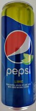 NEW Pepsi With Lime Juice Flavor Soda 12 Oz Tall Can FREE WORLDWIDE SHIPPING