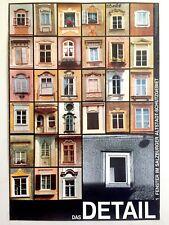 SALZBURG WINDOWS RARE MID CENTURY 1960'S AUTHENTIC VINTAGE AUSTRIA TRAVEL POSTER