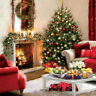 Charity Christmas Cards Living Room Traditional Gloss Finish Xmas - Pack 5