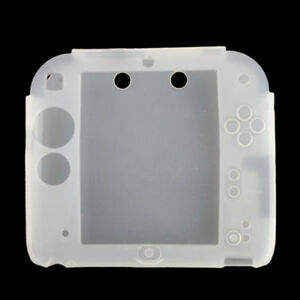 Silicone Rubber Gel Skin Case Cover for Nintendo 2DS Console Protective Case