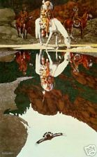 """**Bev Doolittle """"THE GOOD OMEN""""-WSS Collector-Native American-Indian-Eagle**"""
