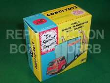 Corgi #503 Chipperfield's Circus Giraffe Transporter - Reproduction Box by DRRB