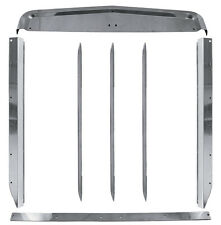 Kenworth W900L Stainless Steel Grill Surround Grille Trim