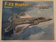 Squadron Book: F-22 Raptor in Action, New Expanded Edition 80 pages #10223