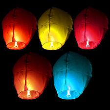 Paper Kongming Wishing Lamp Luck Flying Lantern for Wedding Birthday Party Decor