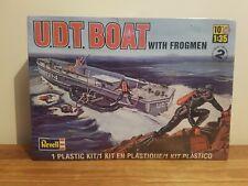 Revell U.D.T Boat With Frogmen 1:35 Model Kit - New