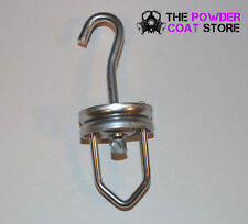 Swivel Rotating Hook - Perfect for Paint and Powder Coating! Holds up to 200LBS!