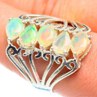 Large Ethiopian Opal 925 Sterling Silver Ring Size 9.25 Ana Co Jewelry R54517