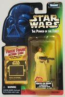 STAR WARS POWER OF THE FORCE PRINCESS LEIA ORGANA WITH FREEZE FRAME ACTION SLIDE