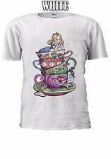 Disney Alice In Wonderland T-shirt Vest Tank Top Men Women Unisex 2485