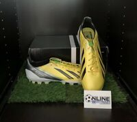 Adidas Adizero F50 TRX AG SYN - Yellow/Black/Green UK 11, US 11.5, EU 46