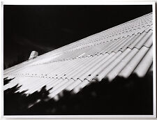 Original Vintage 1970s abstract roof, art photo, baryta paper