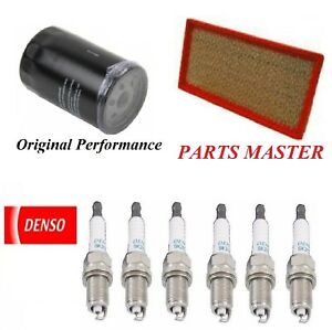 Tune Up Kit Air Oil Filters Spark Plugs For JEEP TJ L6; 4.0L 2005-2006