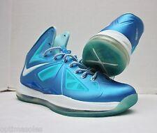 Nike Lebron X 10 Size 11 - Blue White - Wind Chill Diamond - 542244 400