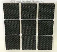 9 Foam Rubber Furniture Floor Scratch Protector Bumper Pads Non-Skid Self Stick