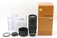【】Nikon AF-S NIKKOR 70-200mm F4G ED VR AF Zoom Lens w/BOX (480-KE18)